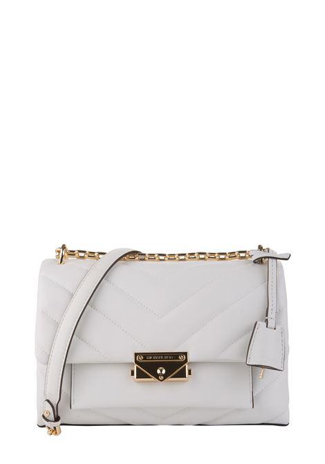 CECE WHITE SHOULDER BAG MICHAEL DI MICHAEL KORS | Bags | 30T9G0EL8L085CECE085