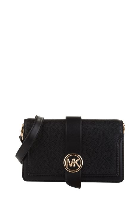 BLACK CHARM BAG IN HAMMERED LEATHER MICHAEL DI MICHAEL KORS | Bags | 32S0G00C8L001MKCHARM001