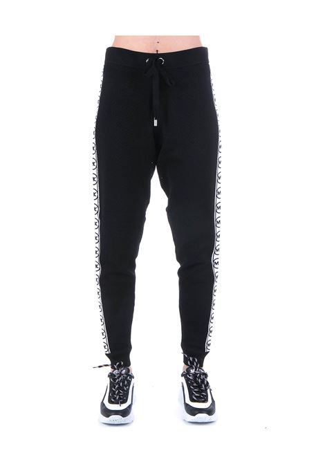 KNITTED BLACK JUMPSUIT TROUSERS MICHAEL DI MICHAEL KORS |  | MS03HBB5ZV001001