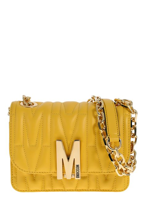 YELLOW BAG IN QUILTED NAPPA MOSCHINO | Bags | 74298002028