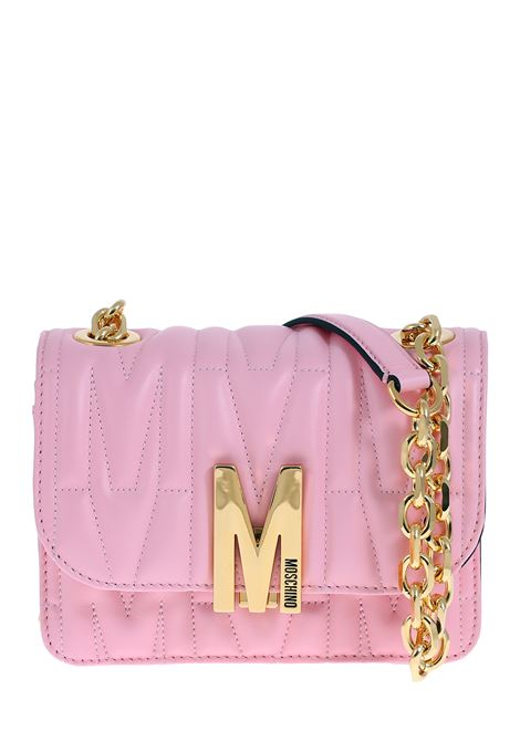 PINK BAG IN QUILTED NAPPA MOSCHINO | Bags | 74298002242