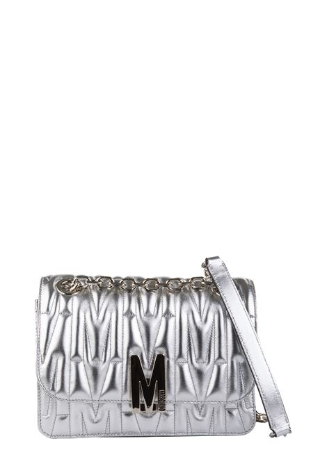 M QUILTED LAMINATED CROSSBODY BAG MOSCHINO | Bags | A74758011600