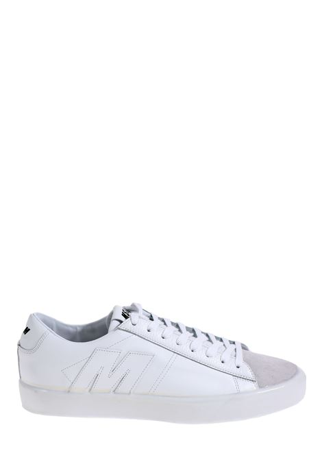 WHITE LEATHER SNEAKERS MSGM | Sneakers | 2840MS10220902