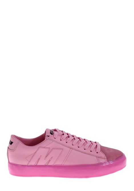 PINK LEATHER SNEAKERS MSGM | Sneakers | 2841MDS10220913