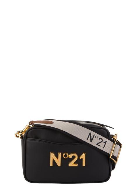 BLACK SHOULDER BAG WITH LOGO N°21 | Bags | 20EBM0204EN00N001