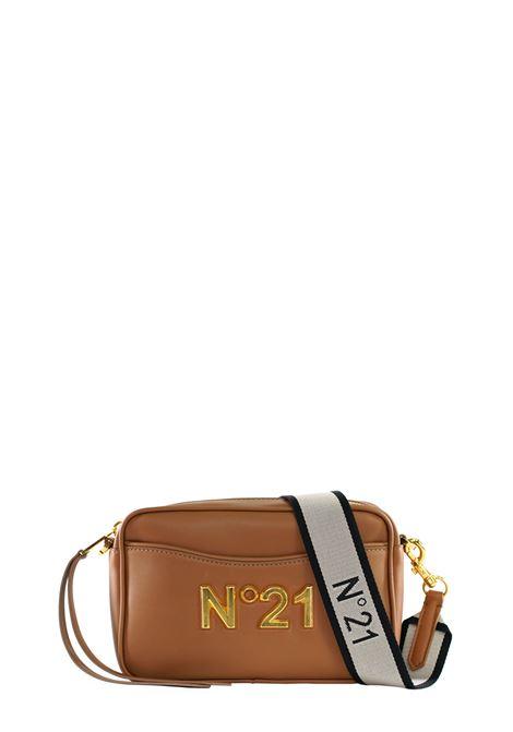 BEIGE SHOULDER BAG WITH LOGO N°21 | Bags | 20EBM0204EN00N003