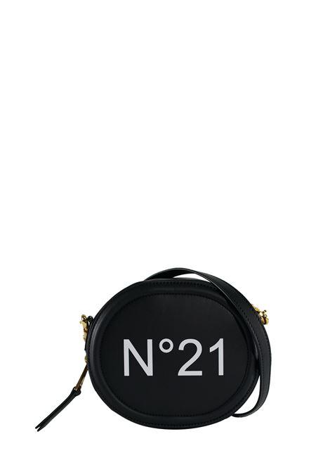 BLACK CROSSBODY BAG WITH FRONT LOGO N°21 | Bags | 20EBP0104NP00N001
