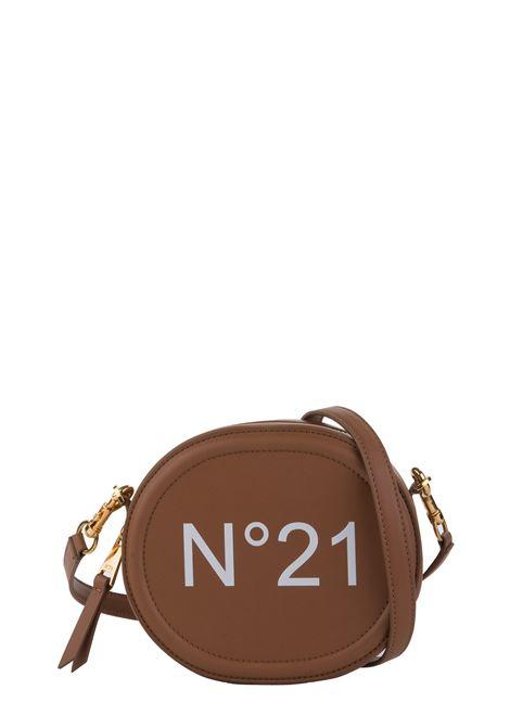 BEIGE CROSSBODY BAG WITH FRONT LOGO N°21 | Bags | 20EBP0104NP00N006