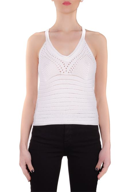 WHITE KNIT TOP Nude | Tops | 110173622