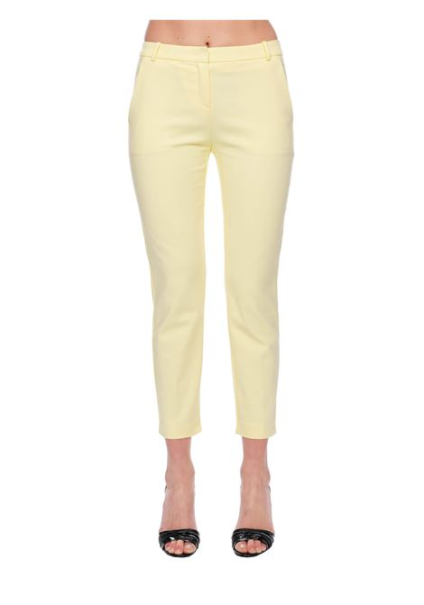 YELLOW BELLY 84 PANTS IN STRETCH TECHNICAL PINKO | Pants | BELLO84 1G14TT2845H04