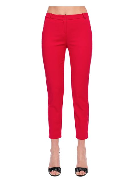 FUCSIA BELLY 84 PANTS IN STRETCH TECHNICAL PINKO | Pants | BELLO84 1G14TT2845R51