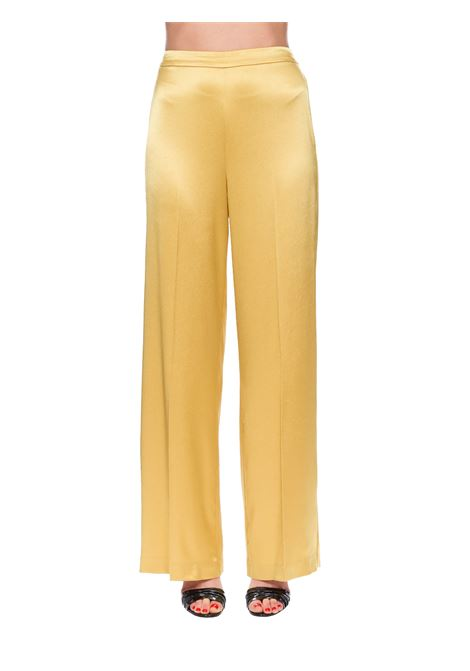 FLUID TROUSERS IN SATIN CALZONE PINKO | Pants | CALZONE1G14XP7914H39
