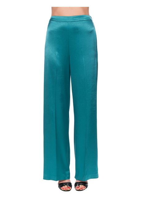 FLUID TROUSERS IN SATIN CALZONE PINKO | Pants | CALZONE1G14XP7914X35