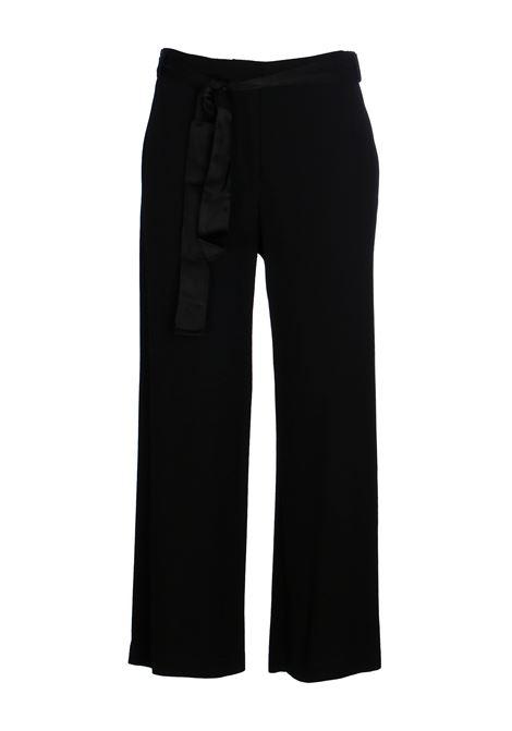 BLACK CIRO 6 PANTS IN ENVER SATIN PINKO | Pants | CIRO6 1G14Y2Y5XXZ99