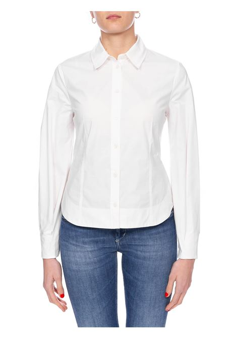 WHITE GROWTH SHIRT IN COTTON POPLIN PINKO | Shirts | CRESCENZA1G14VU7905Z04