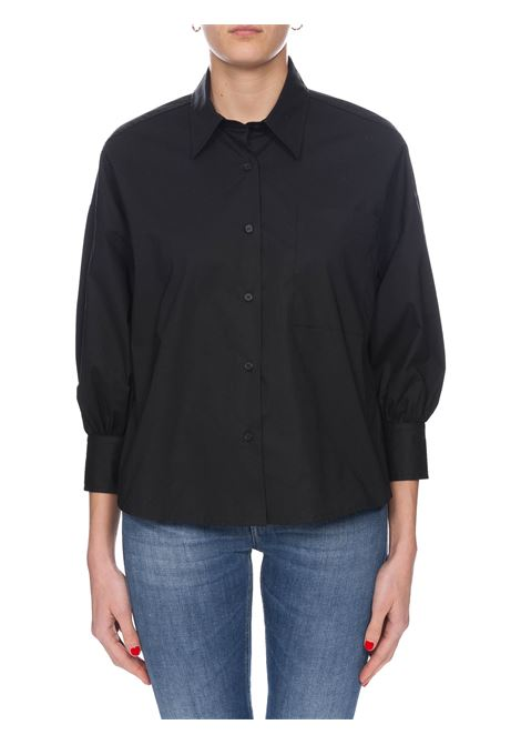 BLACK KOLBI1 SHIRT IN COTTON POPLIN PINKO | Shirts | KOLBI1 1B14HL8012Z99