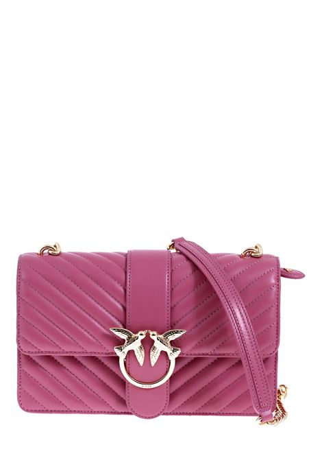 PINK LOVE BAG MIX BAG IN NAPPA LEATHER PINKO | Bags | LOVECLASSICMIXCL1P21PCY677Q03