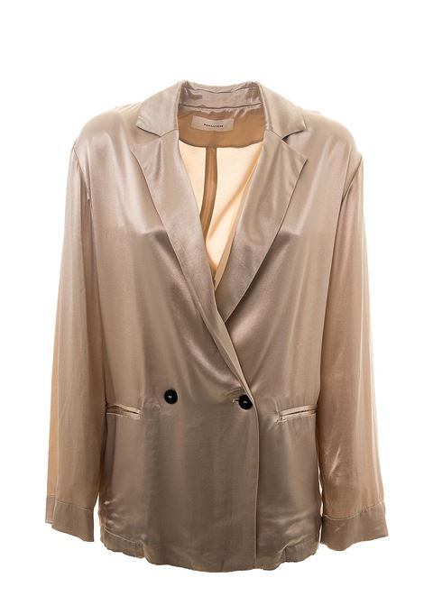 BEIGE DOUBLE-BREASTED JACKET POMANDERE | Jackets | 20152362066219