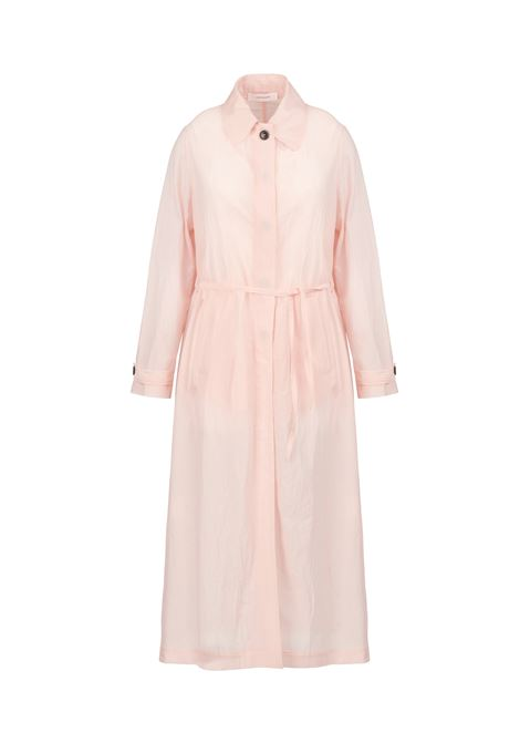 PINK TRENCH IN LINEN POMANDERE | Jackets | 20161341051750