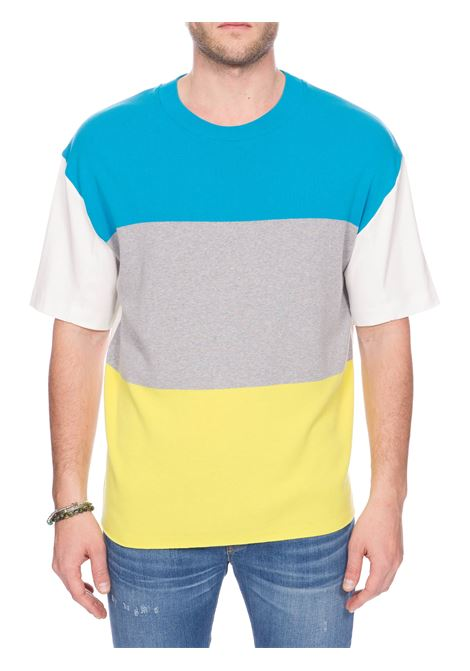 MULTICOLOR COTTON T-SHIRT ROBERTO COLLINA | Sweaters | RC54121RC5402