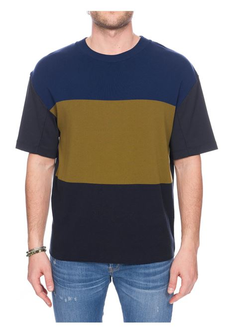 MULTICOLOR COTTON T-SHIRT ROBERTO COLLINA | Sweaters | RC54121RC5424