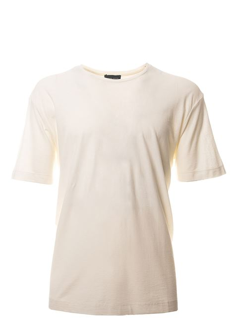 WHITE COTTON T-SHIRT ROBERTO COLLINA | T-shirt | RC90321RC9002