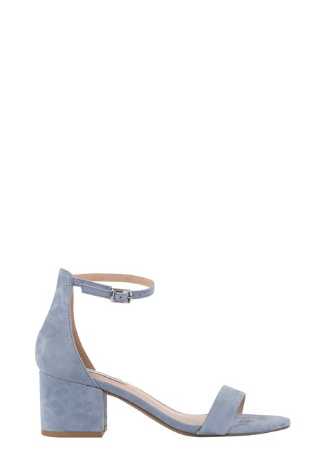 IRENEE LIGHT BLUE SUEDE SANDAL STEVE MADDEN | Sandals | SMSIRENEEMBLU