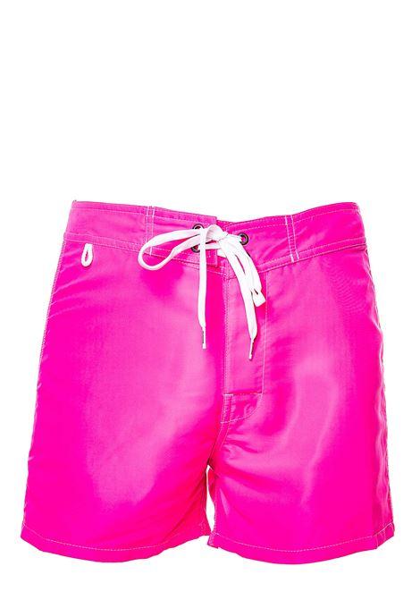 COSTUME ROSA CON APPLICAZIONE LOGO SUL RETRO SUNDEK | Costumi | M502BDTA100377