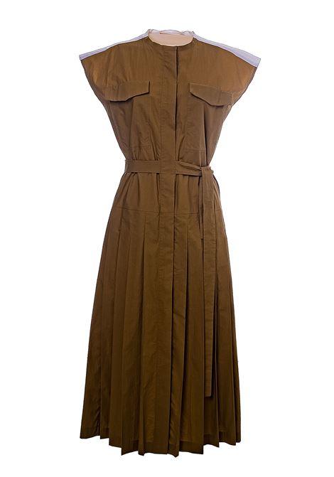 LONG MULTICOLOR DRESS IN COTTON POPLIN TELA | Dress | 015824019965Y001