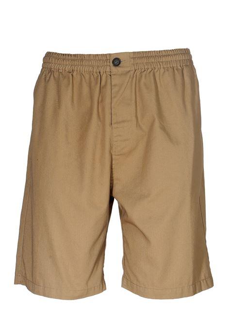 BEIGE COTTON SHORTS THE EDITOR | Bermuda Shorts | E803415N1577023