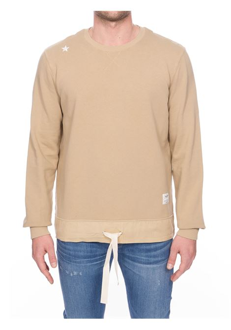 BEIGE COTTON SWEATSHIRT THE EDITOR | Sweatshirts | E806A98T1508123