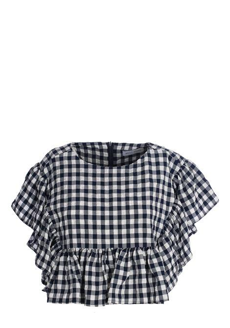 CROP SHIRT IN VICHY weili zheng   Shirts   SWZST35WB2