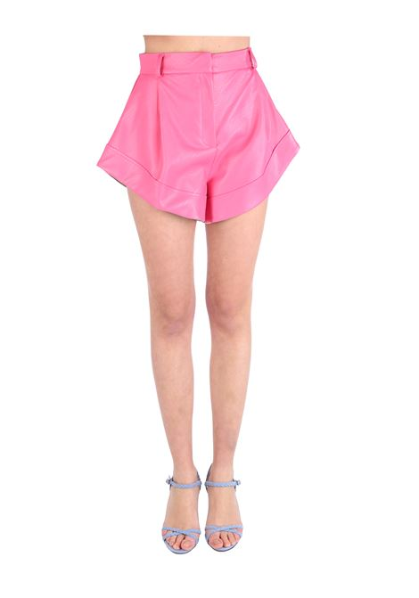 SHORTS ASIMMETRICO IN SIMILPELLE ACTUALEE | Shorts | 000025ROSA
