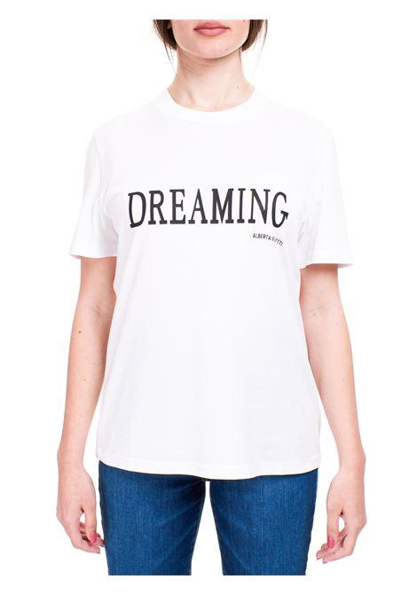 T-SHIRT DREAMING BIANCA IN COTONE ALBERTA FERRETTI | T-shirt | 070216600001