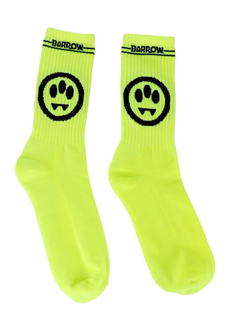 YELLOW SOCKS WITH LOGO EMBROIDERY BARROW |  | 026680023