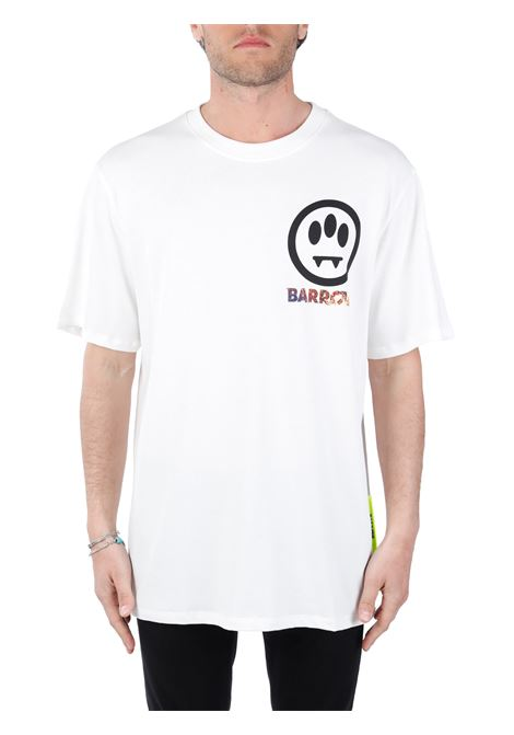 WHITE T-SHIRT WITH FRONT LOGO BARROW |  | 029136002