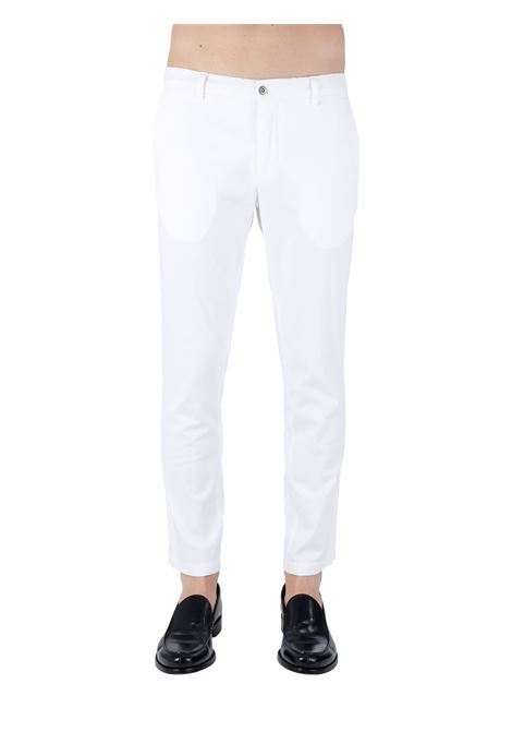 PANTALONI BIANCO IN MISTO COTONE BE ABLE | Pantaloni | ALEXANDER SHORTER GSBIANCO