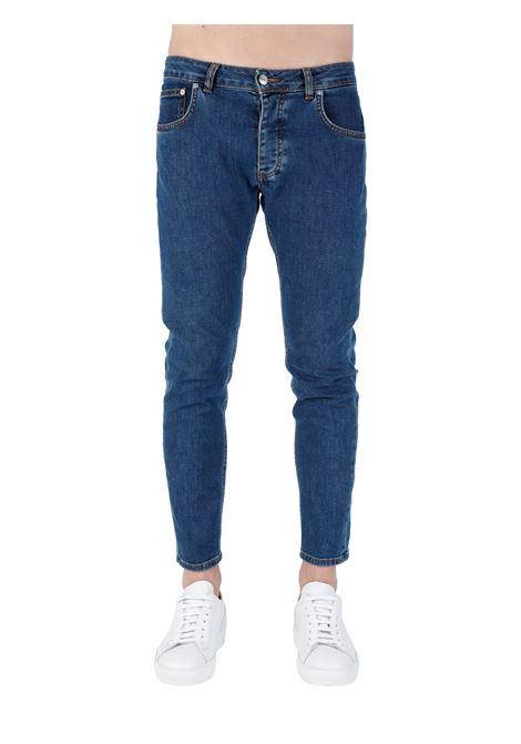 JEANS DAVIS SHORTER IN DENIM DI COTONE BE ABLE | Jeans | DAVIS SHORTER GKC1602