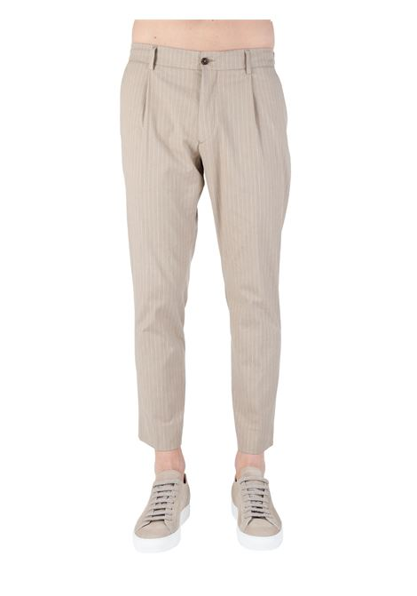 BEIGE RICCARDO PANTS IN MSTO COTTON BE ABLE |  | RICCARDO CC CSRBEIGE