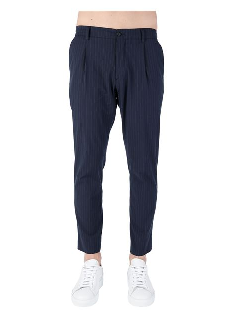 BLUE RICCARDO PANTS IN MSTO COTTON BE ABLE |  | RICCARDO CC CSRBLU
