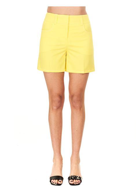 YELLOW COTTON SHORTS BOUTIQUE MOSCHINO | Shorts | 032111201033