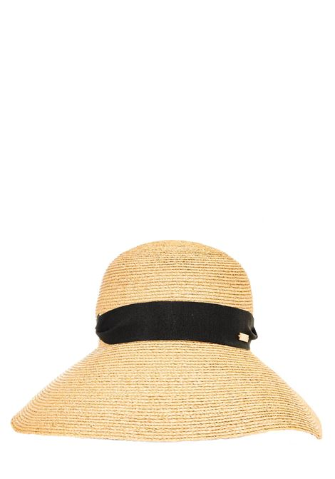 RAFFIA HAT WITH BLACK BAND CATARZI |  | P21CAT44NATNER