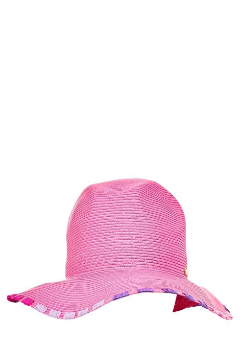 FUCHSIA HAT WITH CONTRASTING BORDER CATARZI |  | P21CAT49FUCSIA
