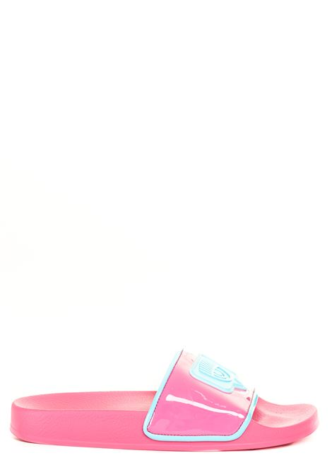 SLIDERS EYELIKE ROSA CHIARA FERRAGNI | Sandali bassi | CF2811011APINK