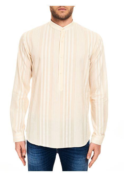 CAMICIA A RIGHE IN COTONE COSTUMEIN | Camicie | Q052