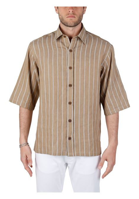 BEIGE SHIRT STEFANO MODEL COSTUMEIN |  | Q09J0001