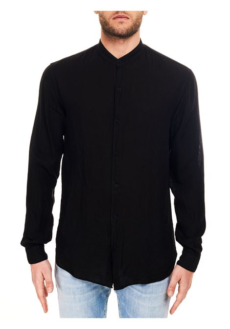 BLACK LINEN DOMENICO SHIRT COSTUMEIN |  | Q20-5CARBONE