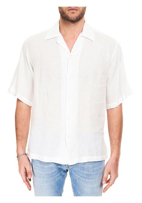 WHITE LINEN SHIRT ROBIN MODEL COSTUMEIN |  | Q28CONATURALE