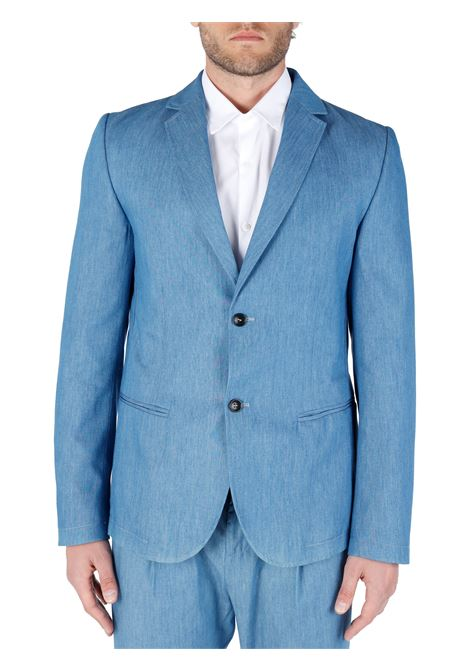 SINGLE-BREASTED JACKET WITH COTTON BUTTONS DANIELE ALESSANDRINI |  | G3084S2306410221