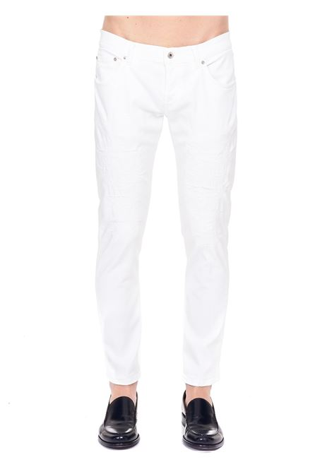 JEANS BIANCO MODELLO MIUS DONDUP | Jeans | UP168BS0030BG9DUS21000